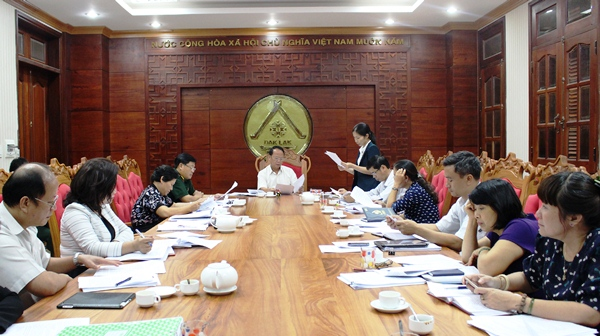 Ban Pháp chế thẩm tra các văn bản trình tại Kỳ họp thứ 2 HĐND tỉnh