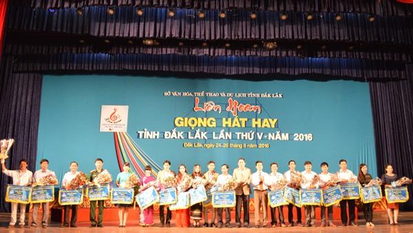 Khai mạc Liên hoan Giọng hát hay tỉnh Đắk Lắk lần thứ V – năm 2016