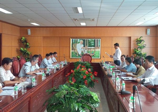 Kiểm tra công tác cải cách hành chính tại Cục Thuế tỉnh