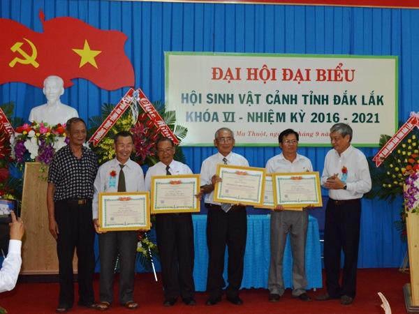 Đại hội Hội Sinh vật cảnh tỉnh Đắk Lắk lần thứ VI, nhiệm kỳ 2016 – 2021