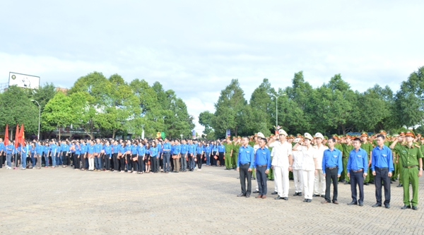 Dak Lak celebrates 71st National Day National with national flag-saluting ceremony