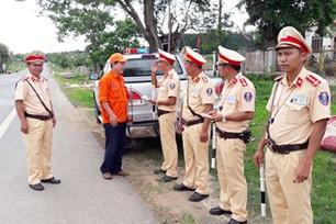 Nỗ lực ngăn chặn TNGT trên tuyến đường Hồ Chí Minh