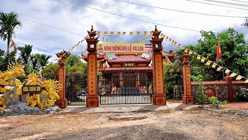 Điều chỉnh hạng mục Nhà Tổ thuộc công trình Chùa Khánh Sơn