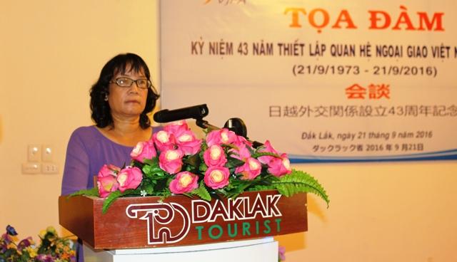 Tọa đàm kỷ niệm 43 năm  thiết lập quan hệ ngoại giao Việt Nam – Nhật Bản.