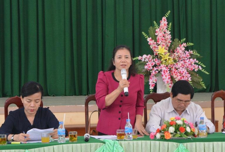 Ủy ban về các vấn đề xã hội của Quốc hội khảo sát tình hình thực hiện các Luật: Bình đẳng giới; Hôn nhân và Gia đình; Phòng, chống bạo lực gia đình trên địa bàn tỉnh.