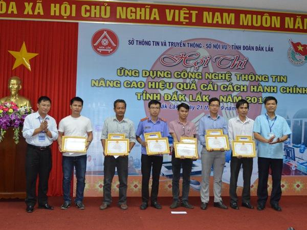 Bế mạc Hội thi ứng dụng Công nghệ thông tin nâng cao hiệu quả cải cách hành chính tỉnh Đắk Lắk.