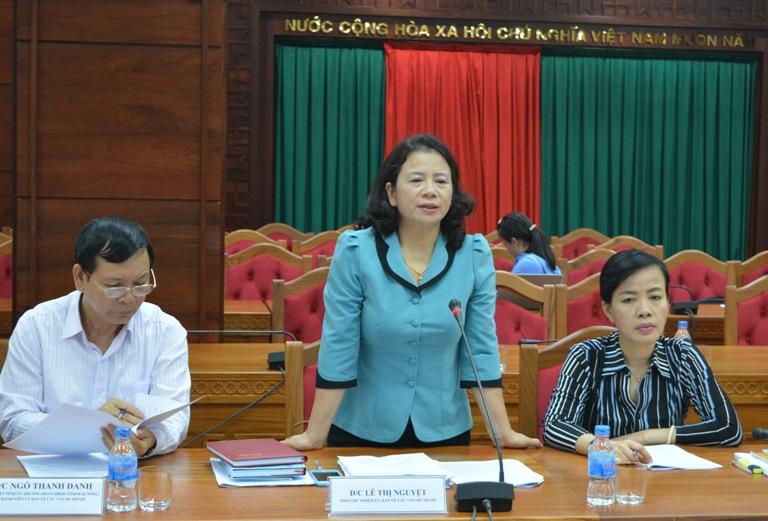 UBND tỉnh tiếp và làm việc với Đoàn công tác của Ủy ban về các vấn đề xã hội của Quốc hội.