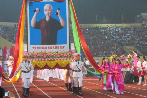 Thực hiện Hưỡng dẫn tổ chức Đại hội thể dục thể thao các cấp