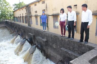 Giao lập báo cáo đề xuất chủ trương đầu tư Dự án cải tạo, nâng cấp khả năng cung cấp nước phục vụ chống hạn tại huyện Cư Kuin và huyện Lắk.