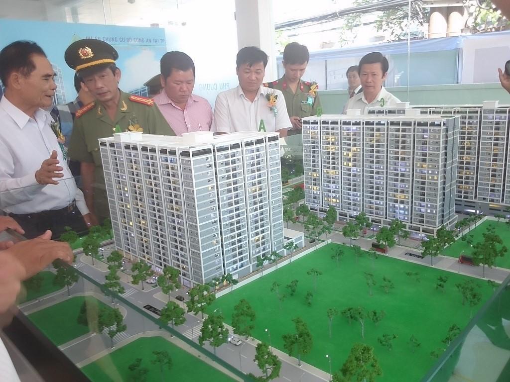 Hoàn trả vốn đầu tư xây dựng cơ sở hạ tầng thuộc dự án: Nhà ở cán bộ chiến sỹ Công an Đắk Lắk tại khối 7, phường Tân Lập, thành phố Buôn Ma Thuột.