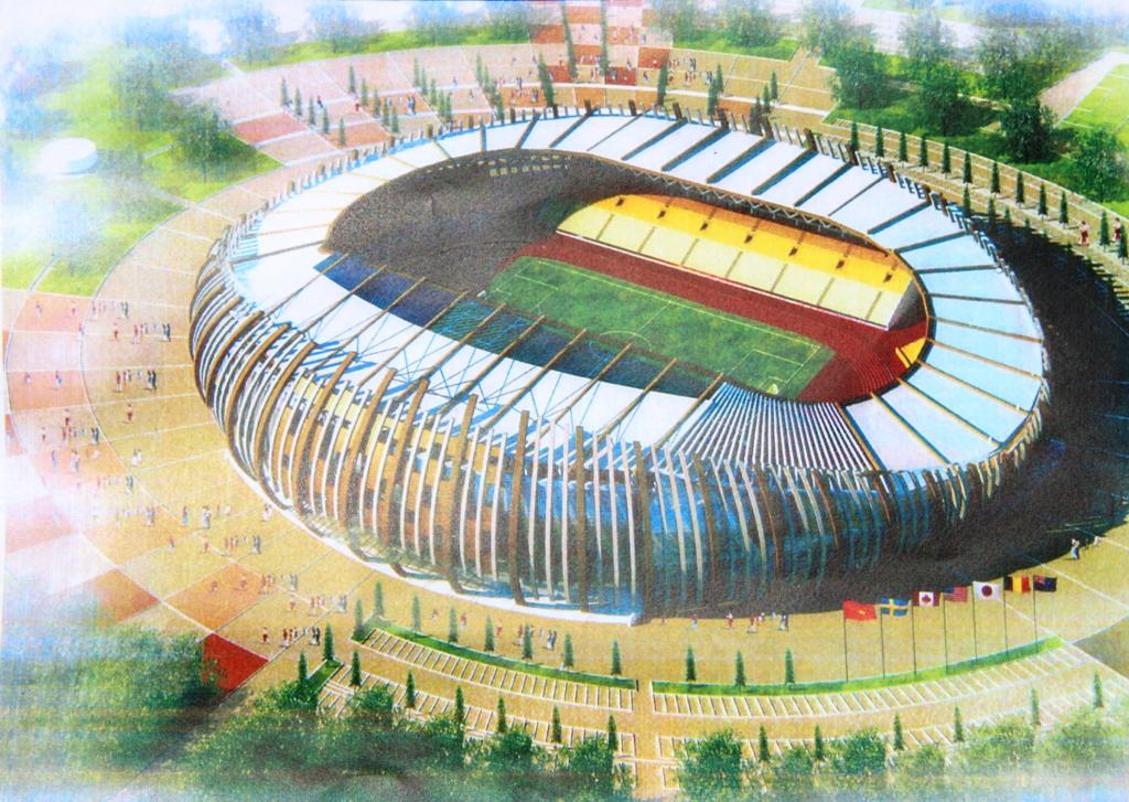Đầu tư dự án Sân vận động Trung tâm thuộc Khu Liên hợp Thể dục thể thao vùng Tây Nguyên