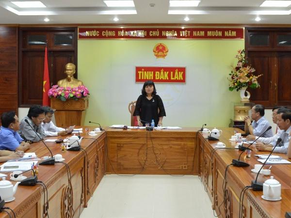 Kết luận của đồng chí H'Yim Kđoh - Phó Chủ tịch UBND tỉnh tại cuộc họp rà soát công tác đấu thầu thuốc 6 tháng cuối năm 2016 và kế hoạch năm 2017.