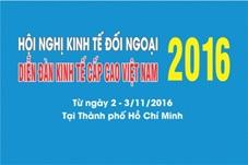 Phối hợp cung cấp thông tin tổ chức Hội nghị Kinh tế đối ngoại 2016
