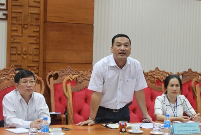 UBND tỉnh làm việc với đoàn công tác của tổ chức Nông lương Liên Hợp Quốc và tổ chức Phi Chính phủ Action Aid Việt Nam.