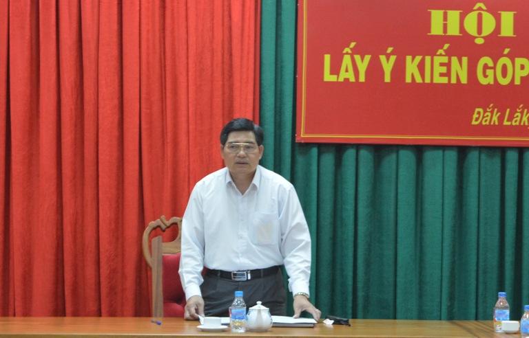 Đoàn Đại biểu Quốc hội tỉnh tổ chức lấy ý kiến góp ý dự thảo Luật.