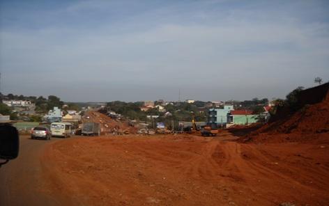 Phê duyệt thiết kế bản vẽ thi công và dự toán san nền tổng thể khu trung tâm đô thị cơ quan hành chính huyện Krông Búk