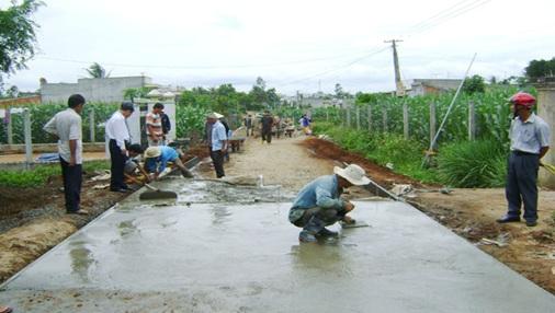 Phê duyệt kế hoạch lựa chọn nhà thầu dự án Đường giao thông nông thôn 4, xã Cư San, huyện M'Đrắk