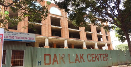 Thu hồi dự án đầu tư Dak Lak Center