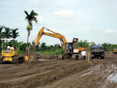 Phê duyệt phương án bồi thường tài sản trên đất và chi phí thực hiện bồi thường khi Nhà nước thu hồi đất của Hợp tác xã Vận tải cơ giới Tân Lập