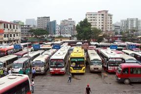 Thỏa thuận vị trí đấu nối đường dẫn ra, vào Bến xe khách huyện Lắk với Quốc lộ 27.