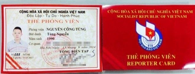 Chấn chỉnh việc sử dụng các loại giấy tờ, thẻ gây nhầm lẫn với Thẻ nhà báo
