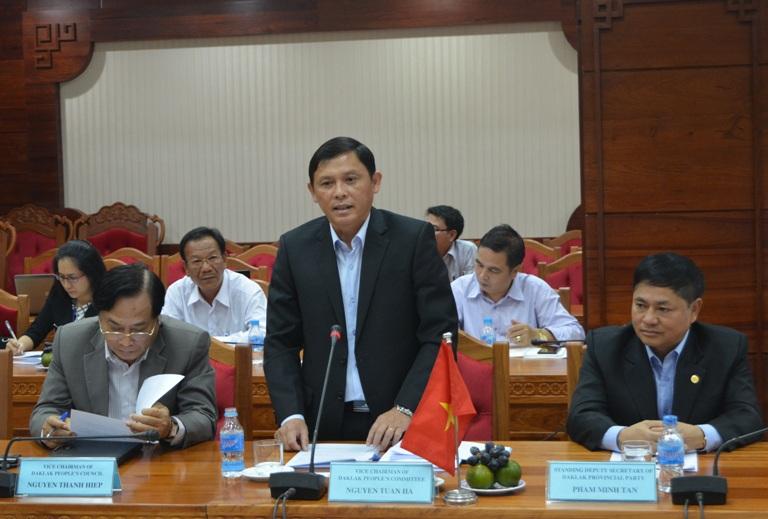 UBND tỉnh làm việc với đoàn công tác của Đại sứ quán Hàn Quốc tại Việt Nam và Văn phòng Hợp tác quốc tế Hàn Quốc tại Việt Nam.