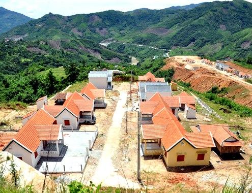 Phê duyệt thiết kế bản vẽ thi công và dự toán công trình: Khu tái định cư số 3, xã Cư Né, huyện Krông Búk
