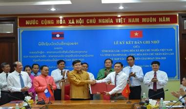 Triển khai nội dung hợp tác giữa tỉnh Đắk Lắk với tỉnh Champasak và tỉnh Attapeu- Cộng hòa Dân chủ nhân dân Lào giai đoạn 2016-2020