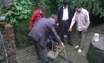 Hỗ trợ kinh phí đầu tư xây dựng công trình cấp nước sinh hoạt tập trung theo Quyết định 755 của Thủ tướng Chính phủ