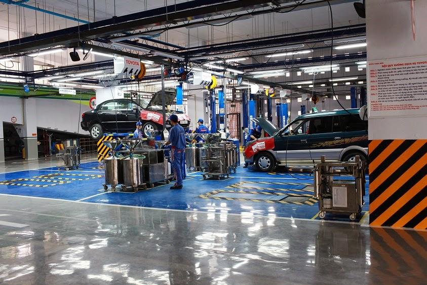 Quyết định phê duyệt quy hoạch tổng mặt bằng tỷ lệ 1/500 dự án: Garage sửa chữa ô tô, cửa hàng kinh doanh phụ tùng ô tô và kho bãi phục vụ vận tải hàng hóa
