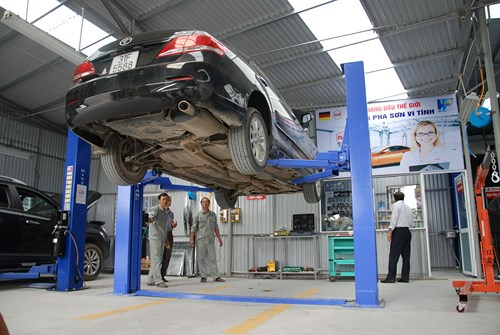 Quyết định phê duyệt quy hoạch tổng mặt bằng tỷ lệ 1/500 dự án: Garage sửa chữa ô tô và cửa hàng kinh doanh phụ tùng ô tô