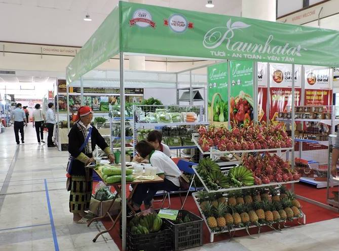 Đăng ký xây dựng Trung tâm đầu mối nông sản thực phẩm sạch.