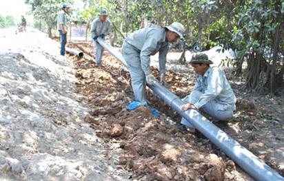 Gia hạn thời gian thi công công trình Hệ thống cấp nước sinh hoạt trên địa bàn phường Ea Tam, TP Buôn Ma Thuột.