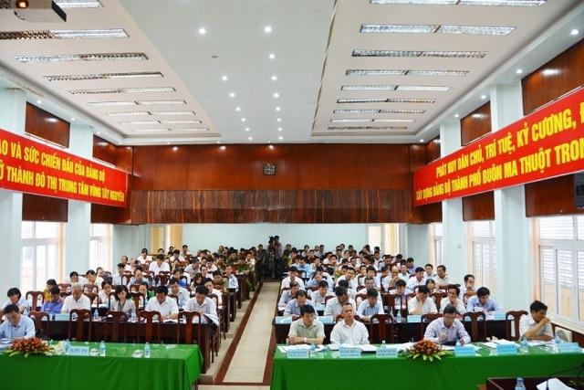 Hội nghị Ban Chấp hành Đảng bộ Thành phố Buôn Ma Thuột lần thứ 10 (mở rộng)