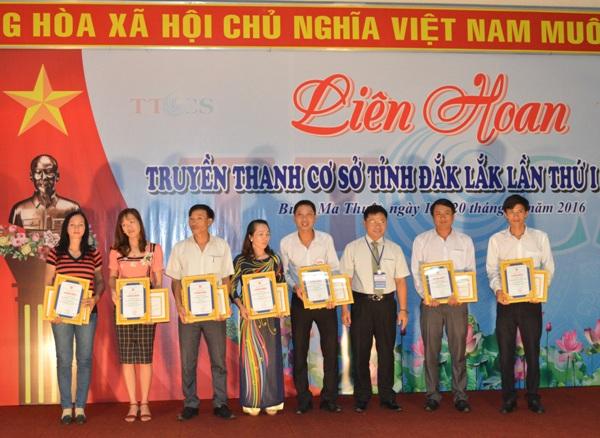 Bế mạc Liên hoan Truyền thanh cơ sở tỉnh Đắk Lắk lần thứ I – năm 2016