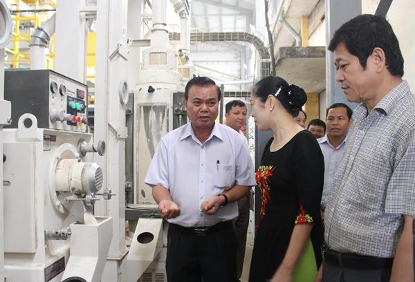 Đoàn công tác của Thường trực Tỉnh ủy kiểm tra và làm việc tại xã Cư Ni, huyện Ea Kar