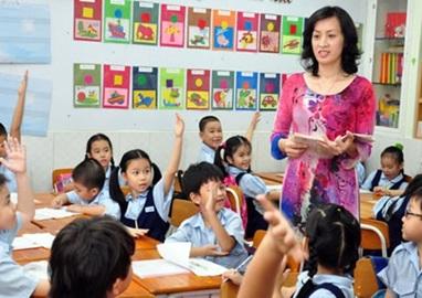 Bố trí giáo viên dạy môn Tiếng Anh ở cấp Tiểu học từ năm học 2016-2017.