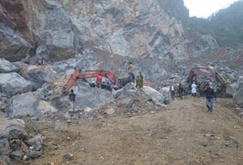 Xử lý kiến nghị liên quan đến các mỏ đá thị trấn Ea Drăng, huyện Ea H'leo.