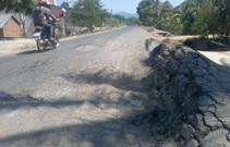Đề nghị sửa chữa mặt đường đoạn từ Km151+050 đến Km177+950 Quốc lộ 19C, tỉnh Đắk Lắk.