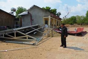 Hỗ trợ kinh phí khắc phục thiệt hại do mưa, lốc gây ra trên địa bàn huyện Krông Pắc