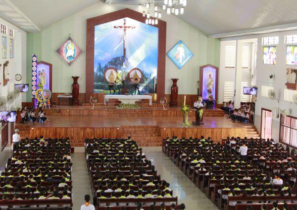 Đồng ý chủ trương xây dựng nhà sinh hoạt tại Giáo họ Vinh Hà (huyện Krông Búk)