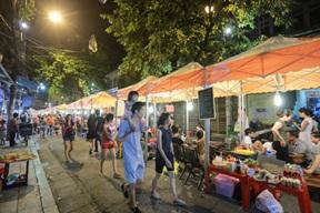 Gia hạn thời gian thực hiện dự án Khu phố ẩm thực văn hóa của Công ty TNHH Xây dựng Phú Thịnh.