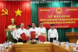 Báo cáo về tổ chức, biên chế của Văn phòng HĐND tỉnh.