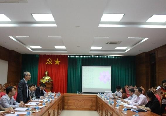 UBND tỉnh tiếp và làm việc với Đoàn công tác JICA và Bộ Nông nghiệp và Phát triển nông thôn