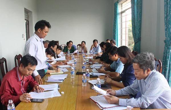 Giám sát việc triển khai chính sách tín dụng đối với đồng bào dân tộc thiểu số đặc biệt khó khăn trên địa bàn huyện Cư M'gar