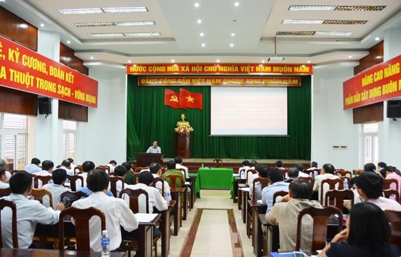 UBND thành phố Buôn Ma Thuột họp phiên thường kỳ tháng 10/2016