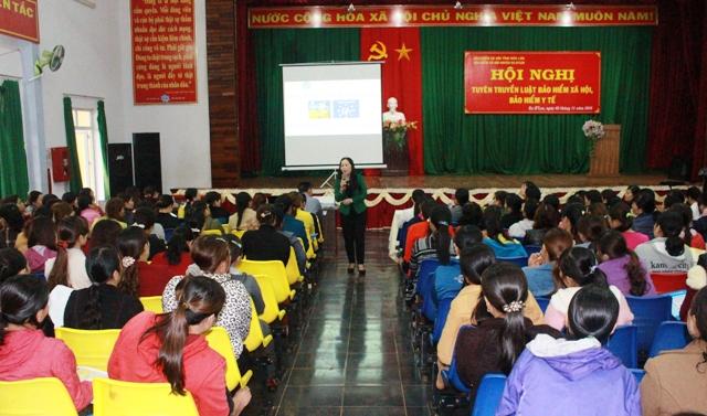 Tuyên truyền Bảo hiểm xã hội, Bảo hiểm y tế tại huyện Ea H'leo