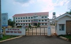 Xử phạt vi phạm hành chính Bệnh viện tâm thần tỉnh Đắk Lắk