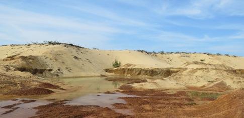 Thành lập Hội đồng thẩm định Phương án cải tạo, phục hồi môi trường của Dự án Tận thu sét, cát
