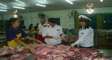 Hỗ trợ kinh phí phục vụ cho công tác thanh tra an toàn vệ sinh thực phẩm